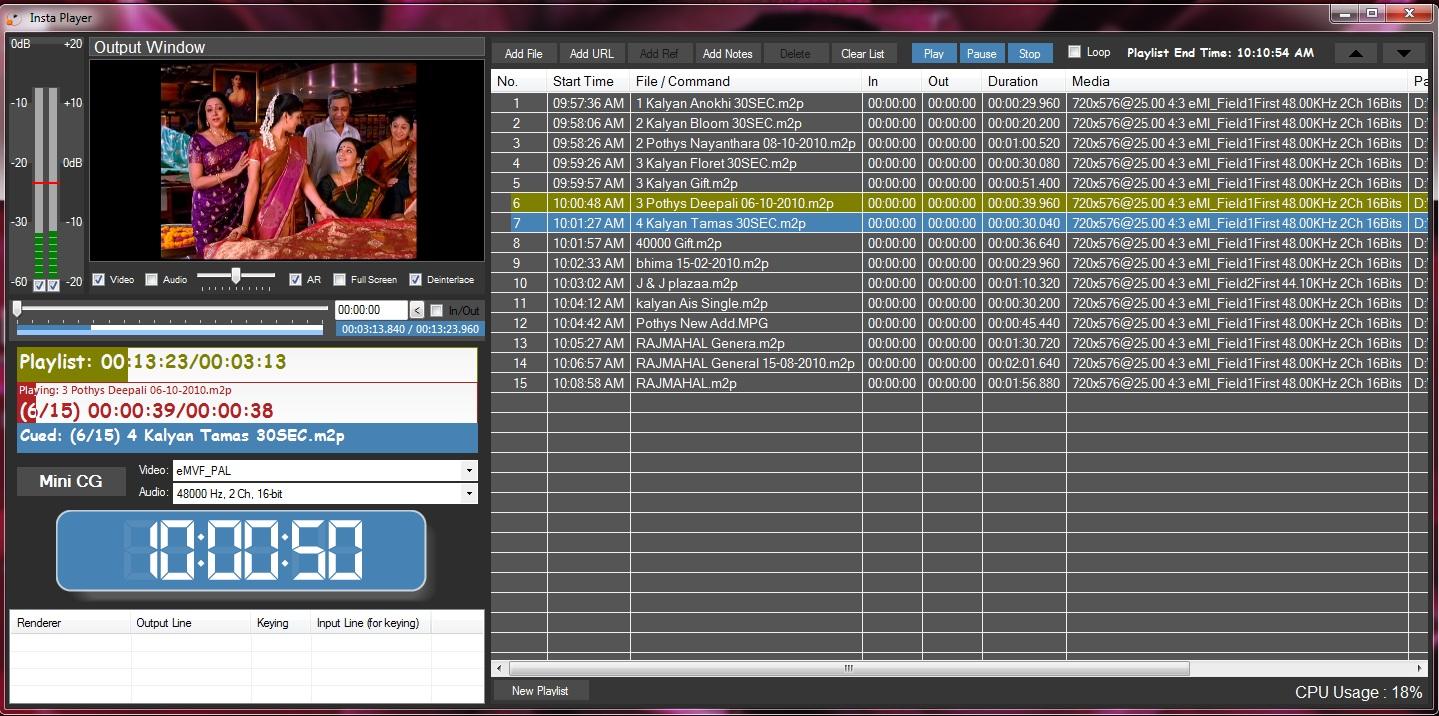 Indytek | Playout Software | WebTV | Capture Software | Ingest
